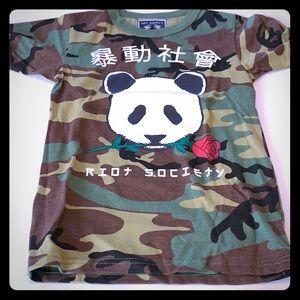 Riot Society T-shirt. Never worn
